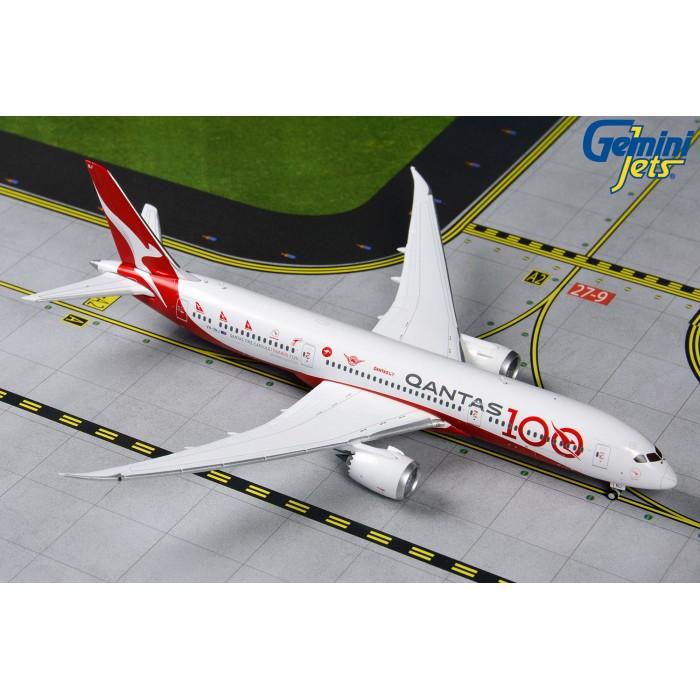 澳洲航空 Qantas Airways Boeing 787-9 一百週年彩繪機 1:400