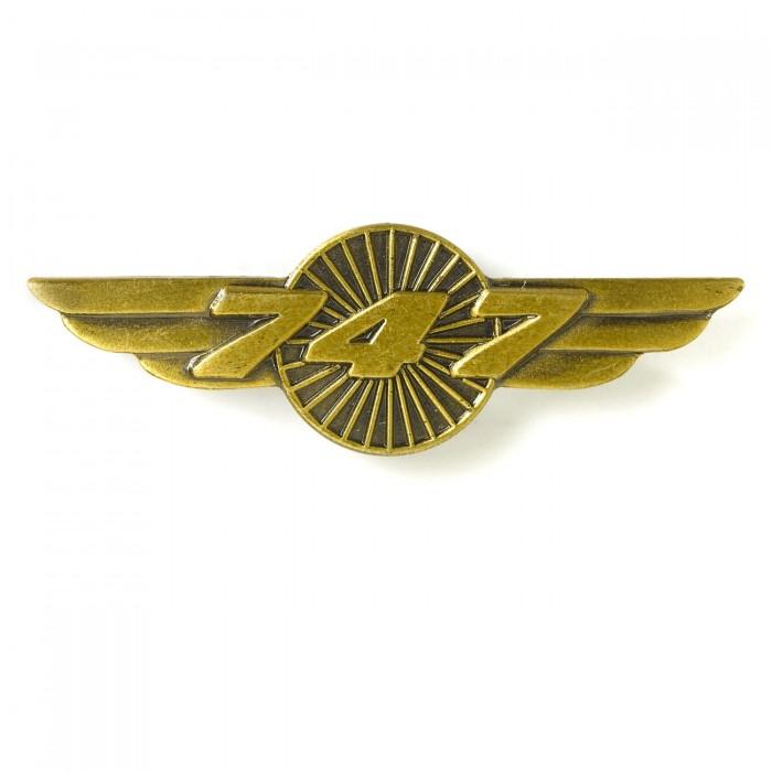 Boeing 747 Wings Pin