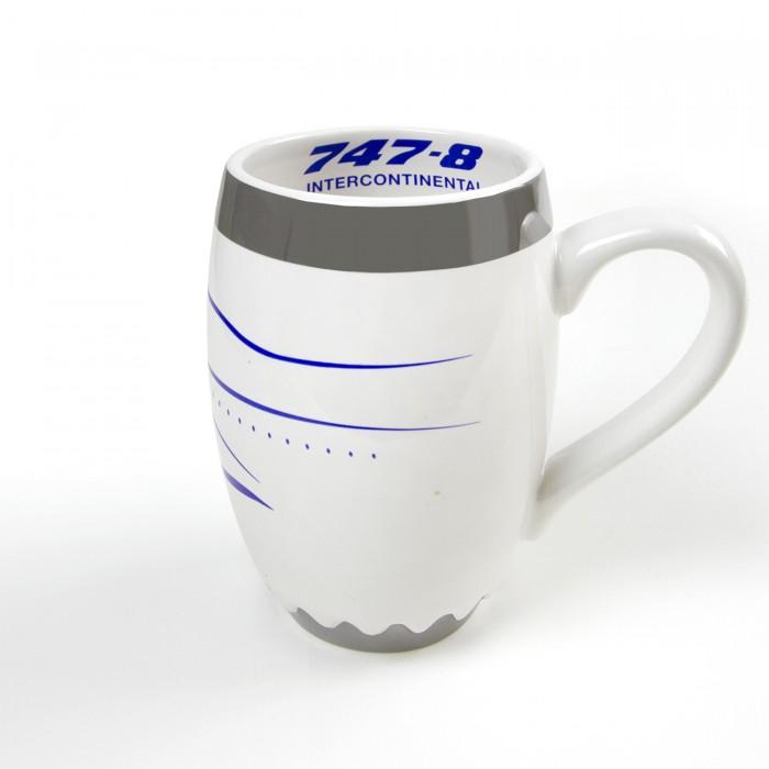 Boeing Unified 747-8 Engine Mug