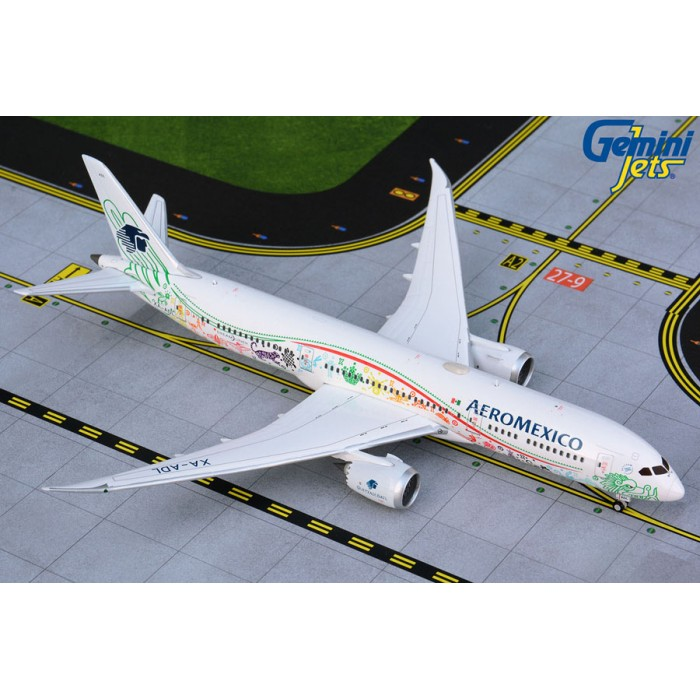 AeroMexico Airlines Boeing 787-9 'Quetzalcoatl livery' 1:400