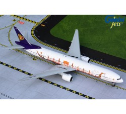 Thai Airways Boeing 777-300 'Suphannahong Royal Barge' 1:200