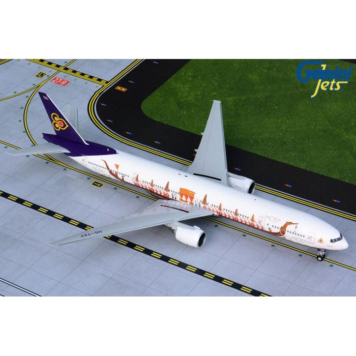 Thai Airways Boeing 777-300 'Suphannahong Royal Barge' 1:200