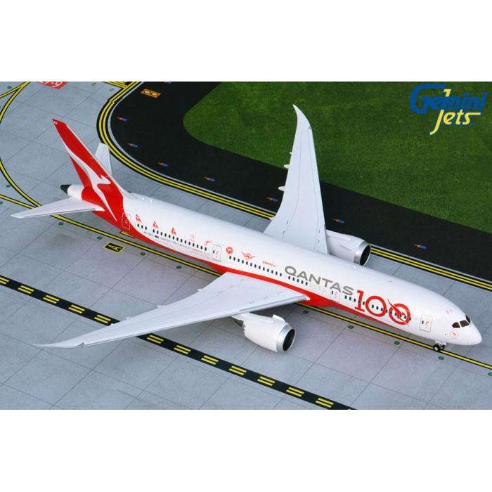 澳洲航空 Qantas Airways Boeing 787-9 '一百週年彩繪機' 1:200