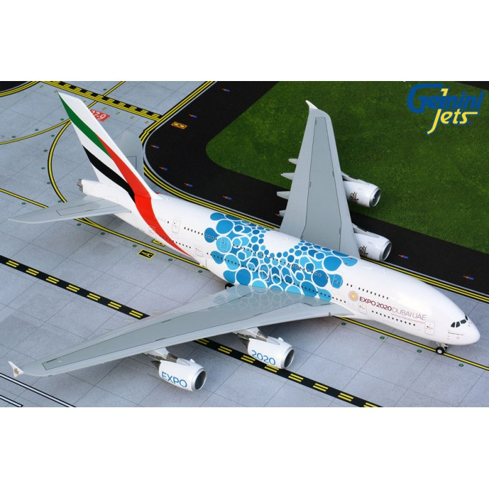 Emirates Airbus A380-800 (Expo 2020 Blue) 1:200