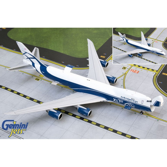 Air Bridge Cargo Airlines Boeing 747-8F 1:400