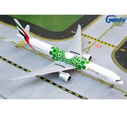 阿聯酋航空 Emirates Boeing 777-300ER 萬博彩繪機(綠) 1:400