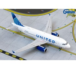 聯合航空 United Airlines Airbus A319 1:400