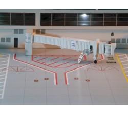 1:400 機場空橋組-單走道窄體 (6件)