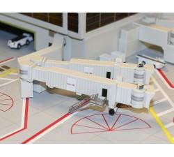 1:400 機場空橋組-雙走道寬體 (3件)